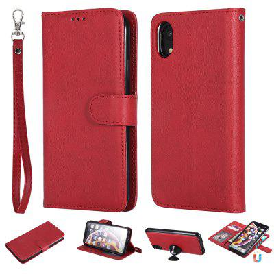 Magnetic Wallet 2 In 1 Detachable Flip Leather Case Cover For Iphone XR