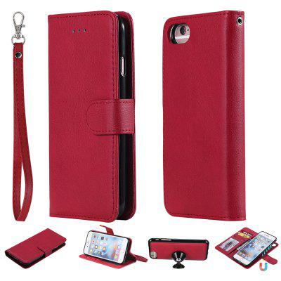 For Iphone 8 Case Magnetic 2 in 1 Detachable Wallet Cover For IPhone 7