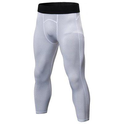 Printing Running Fitness Quick-drying Stretch Tight Pants