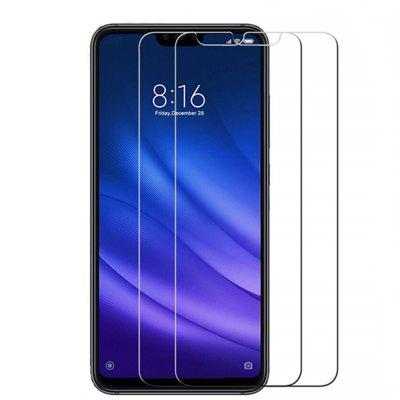 2PCS Tempered Glass Screen Protective Case for Xiaomi 8 Lite