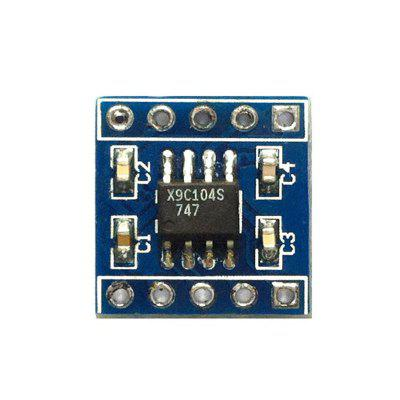 X9C104 Digital Potentiometer Module 100 Digital Regulation Bridge Balance Sensor