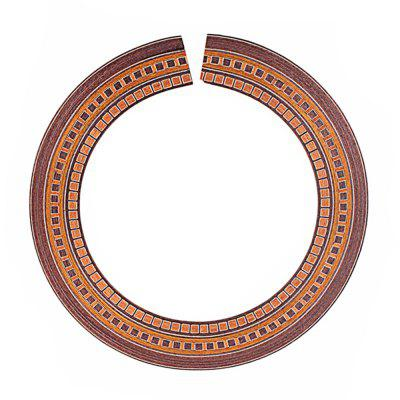 Guitar Wood Inlaid Soundhole Rosette Inner Dia 90mm