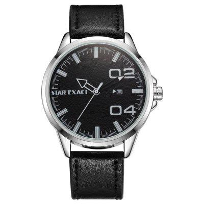 Xr2341 Stylish and Simple Large Digital Trend Leather Sports Watch