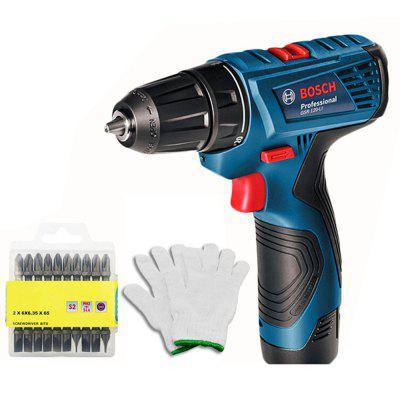 BOSCH Electric Power Drill 12V Rechargeable Cordless Steel Drill Screwdriver