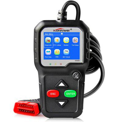 For KONNWEI KW680 Full OBD Function Code Reader Multi-languages Diagnostic Tool
