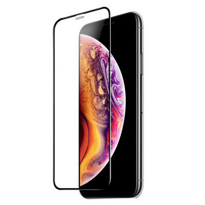 10D Full Cover gehard glas displayfolie voor iPhone X / XS