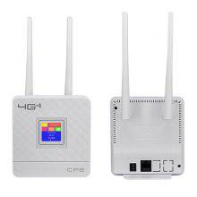 KuWFi 4G CPE Router Cat4 wireless CPE LTE Router Dual External 3DBI Antennas