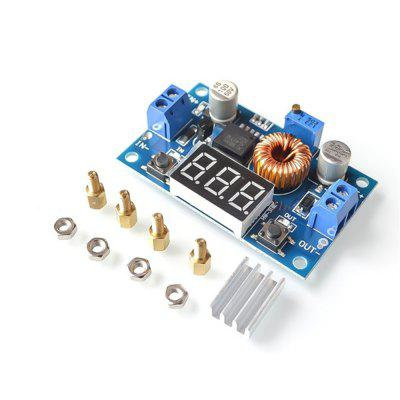 5A 75W Adjustable Buck Power Module 75W Power Module - With Voltmeter