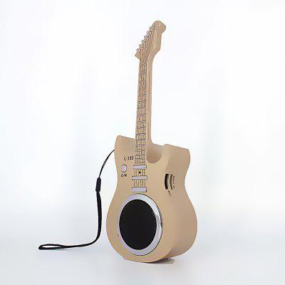 C330 mini guitar Bluetooth speaker fashion wireless U disk card Bluetooth audio