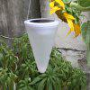 XY5180212 Solar Cone Hanging Lamp Outdoor Courtyard Small Chandelier Balcony - NATURAL WHITE