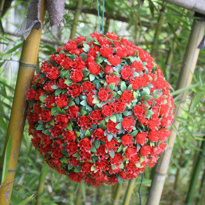 XYHP201804270071 Solar Flower Ball Lights Decorative Lights Garden Garden Hangin