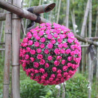 XYHP201804270038 Solar Flower Ball Lights Decorative Lights Garden Garden Hangin