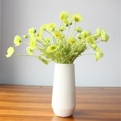 4 Heads Artificial Flowers Wedding Home Party Decorations