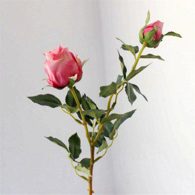 Vintage Style 1Pcs Rose Flori artificiale DIY Buchet de mireasa Home Decor de nunta
