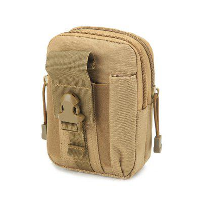 Waist Bag Molle Tactical Pack Bag Waterproof Travel Belt Clip Phone Pouch Case