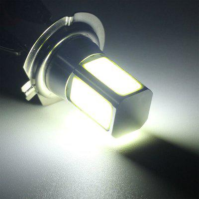 H7 4LEDs COB LED Car Blub Auto Lampada Fendinebbia LED Work Light Luce bianca DC12V