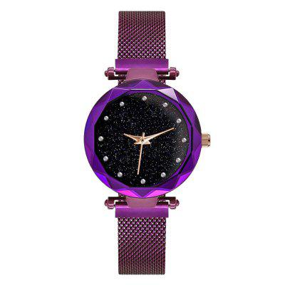 Nouvelle montre à quartz Creative Lady Star Fashion