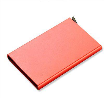 Aluminum Alloy Credit Card Anti Degaussing Automatic Pop Up Bank Metal Clip