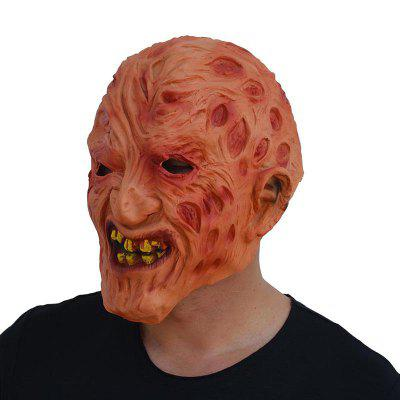 Halloween Latex Rotten Face Zombie Head Cover Cosplay Mask
