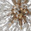 HZ-097 Creative Crystal 12 Spark Ball Chandeliers - GOLD