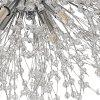 HZ-097 Creative Crystal 16 Spark Ball Chandeliers - SILVER