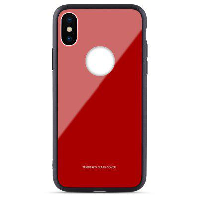 toughened glass Cell Phone Case for Iphone X