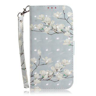 Suitable for Samsung S 7 Edge Leather Cover Magnolia Mobile Phone Case