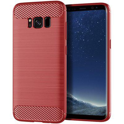 For Samsung Galaxy S8 Plus Brushed Silicone Drop Protection Case