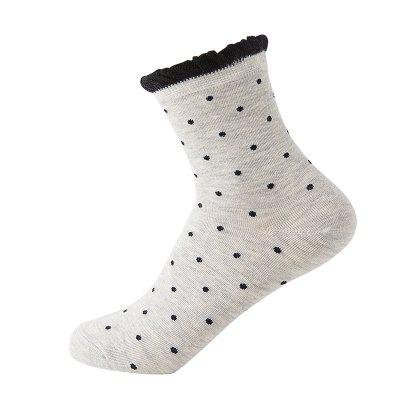 Cotton Small Fresh Design Socks 5 Pairs of Gift Boxes