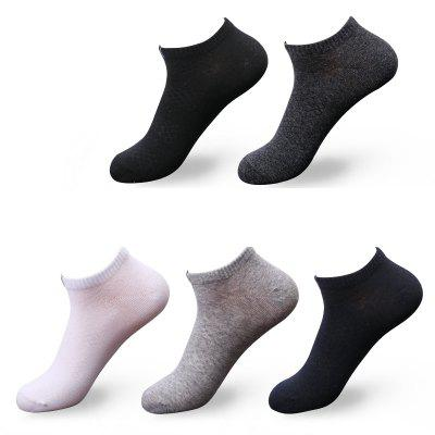 Men Can Wear Cotton Socks for Four Seasons 5 Pairs 5 Pairs