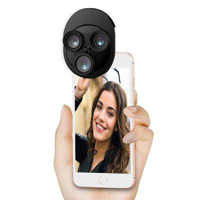 Mobile Phone Rotation Lens Multi-Function 4 In 1 HD Convenient Phone Accessories