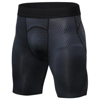 3D Printing Quick-drying Breathable High-elastic Tight Short Pants