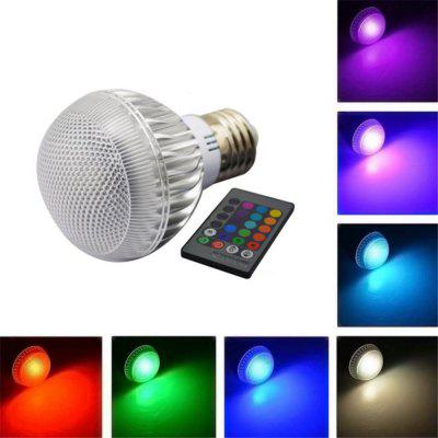 LED Bulb Color Changing Light Bulb With Remote Control Home Decoration/Bar