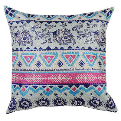 PCM084 Ethnic Style Pattern Throw Pillow Cover Without Insert