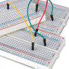 3PCS 400 tie-points breadboard 4 power rails for Arduino Jumper Wire - WHITE