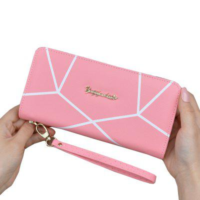Wallet Ladies Long Zipper Portable Wallet Student Fashion Large Capacity Clutch