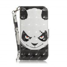 Angry Bear Leather Case for Samsung J 310