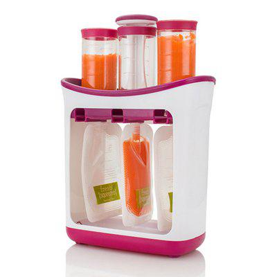 Squeeze Juice Station Baby Food Organisation Storage Containers Food Maker Set