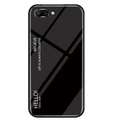Gradient Tempered Glass Case for Huawei Honor 10