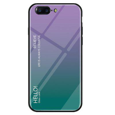 Gradient Tempered Glass Case for OnePlus 5