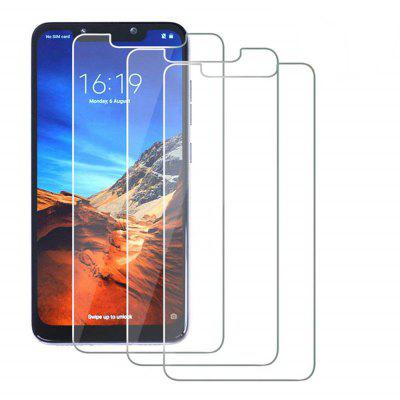 Tempered Glass Screen Protective Case for Xiaomi Pocophone F1 3pcs