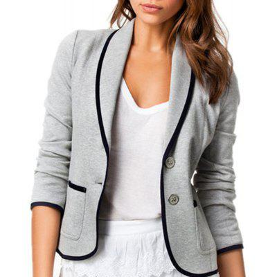Slim-Fitting Small Suit Jacket