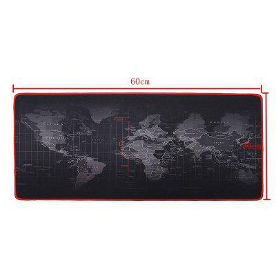 World Map Mouse Pad Large Pad / Keyboard Pad  / Waterproof Office Mouse Mat