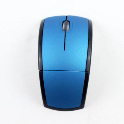 Wireless folding Mouse 2.4GHz Slim Portable Computer Mice with Nano Receiver