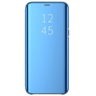 Flip met Stand Mirror Full Body Case Cover voor Samsung Galaxy A7 2018 / A750