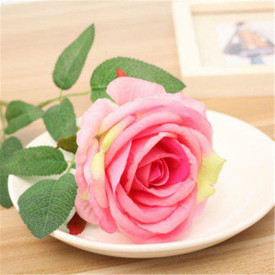 Simulación individual Rose Flannelette Home Living Room Decoration