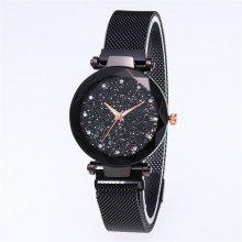 6325a6bb6ac Hot Starry Sky Watch Waterproof Magnet Strap Stainless Steel Women Gift
