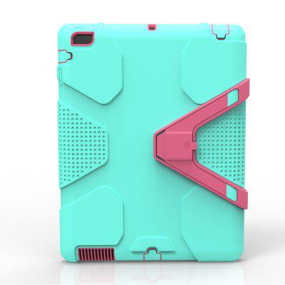 Rugged Kickstand Geometry 9.7 Inch PC TPU Tablet Cover Case For Ipad 2 3 4 Case