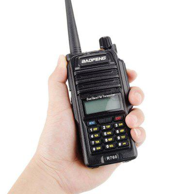 Talkie-walkie portable Baofeng BF-R760 Radio CB Radio Ham 5-10 km de long