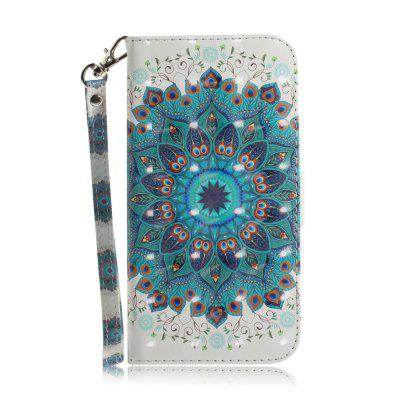 Peacock Wreath Leather Case for Samsung J 4 PLUS/ J 4+